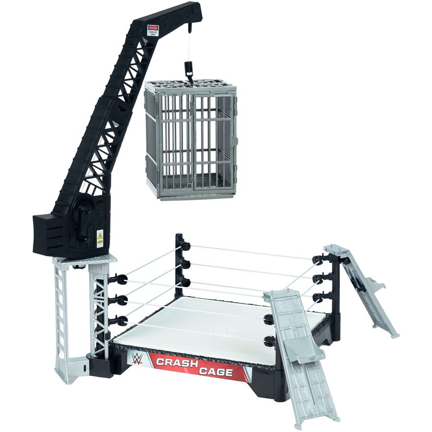 WWE Crash Cage Playset image-0