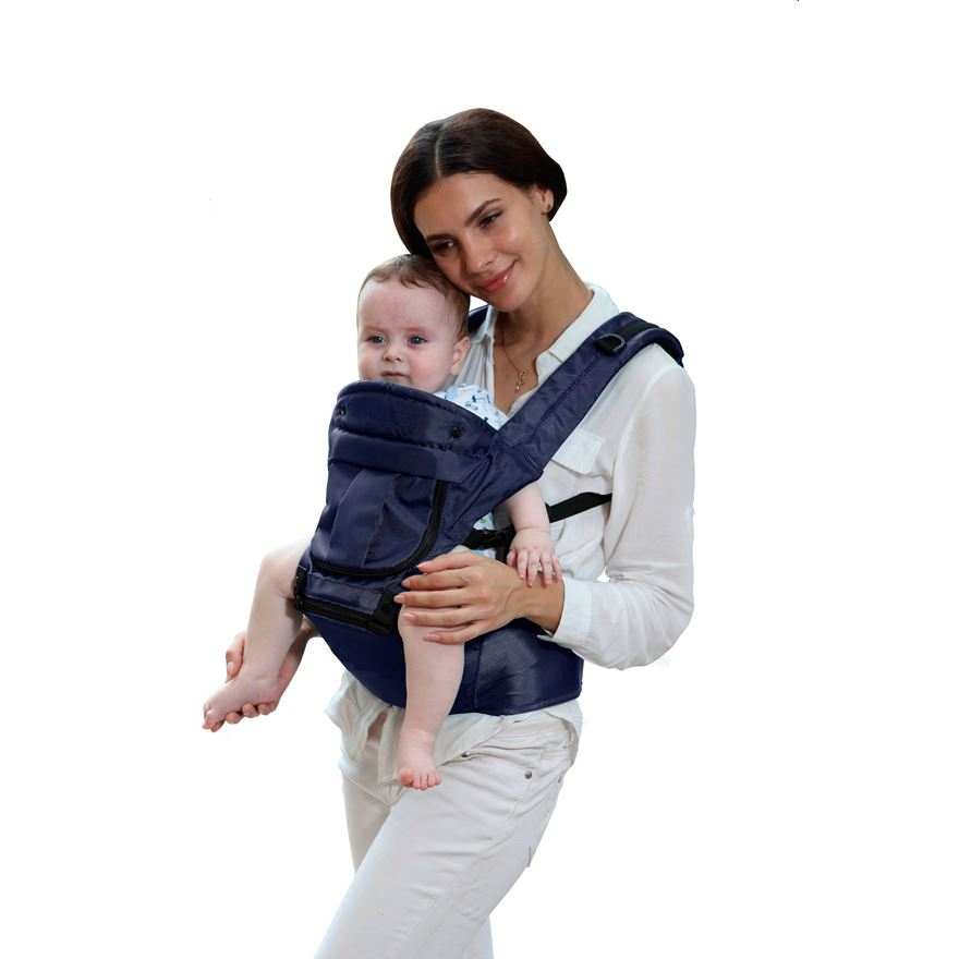 Babylo 3 Way Baby Carrier with Hip Seat image-0
