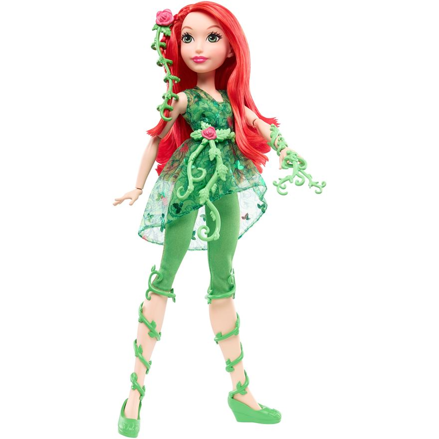 DC Super Hero Girls Poison Ivy 30cm Doll image-0