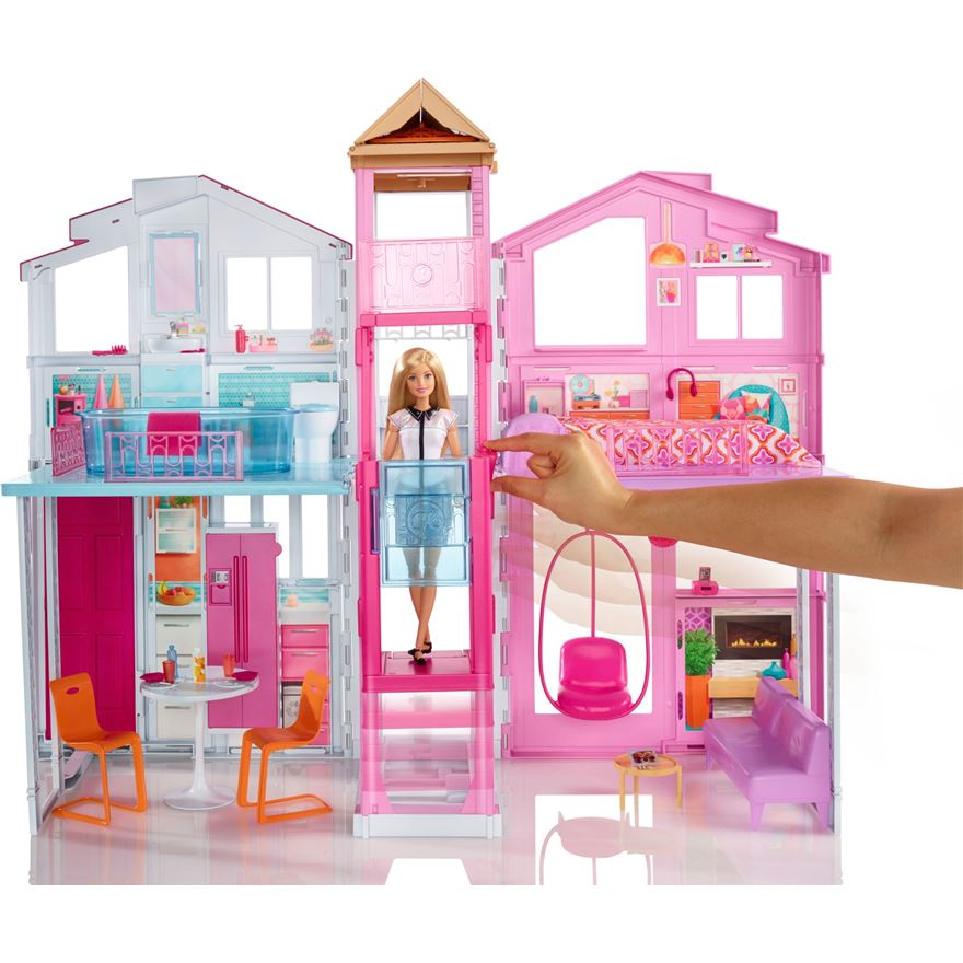 Barbie 3 Story Townhouse image-0