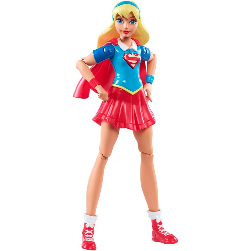 DC Super Hero Girls Supergirl 15cm Doll image-0