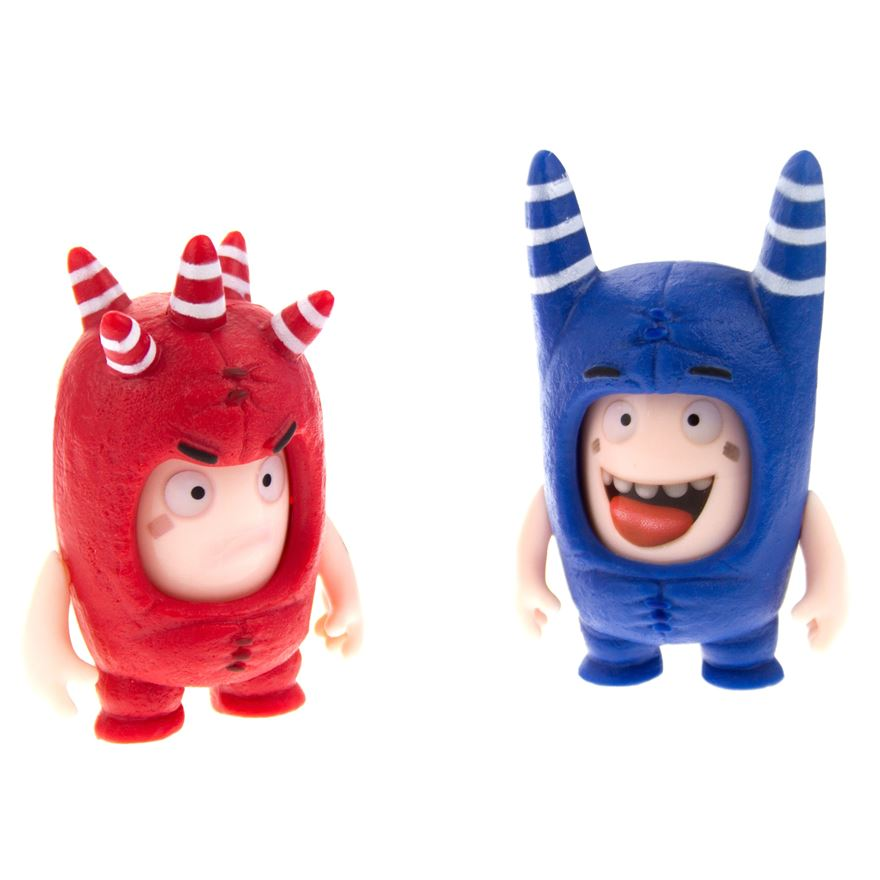 Oddbods Face Changer Figurines Assortment image-0