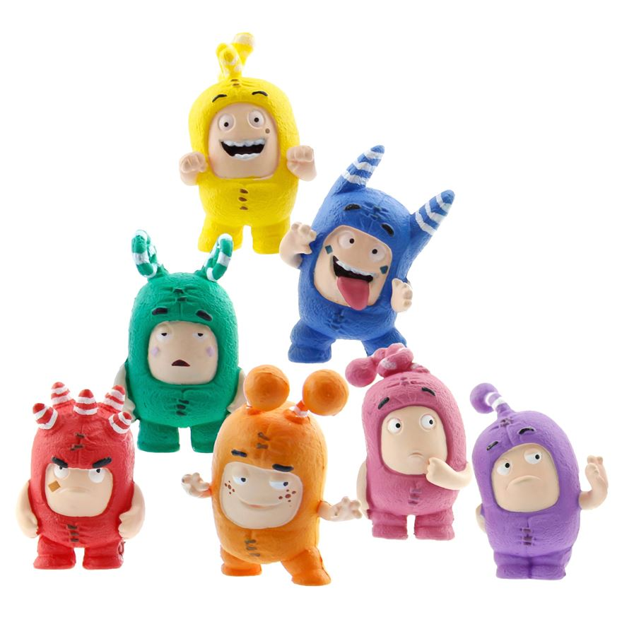 Oddbods Mini Figurine Set image-0