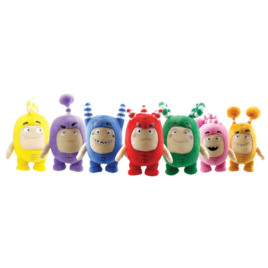 Oddbods Small Soft Toys Assortment image-0