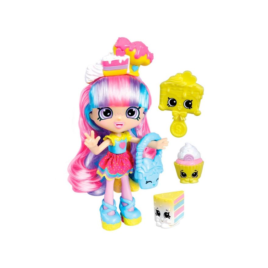 Shopkins Series 2: Shoppies Doll Rainbow Kate image-0