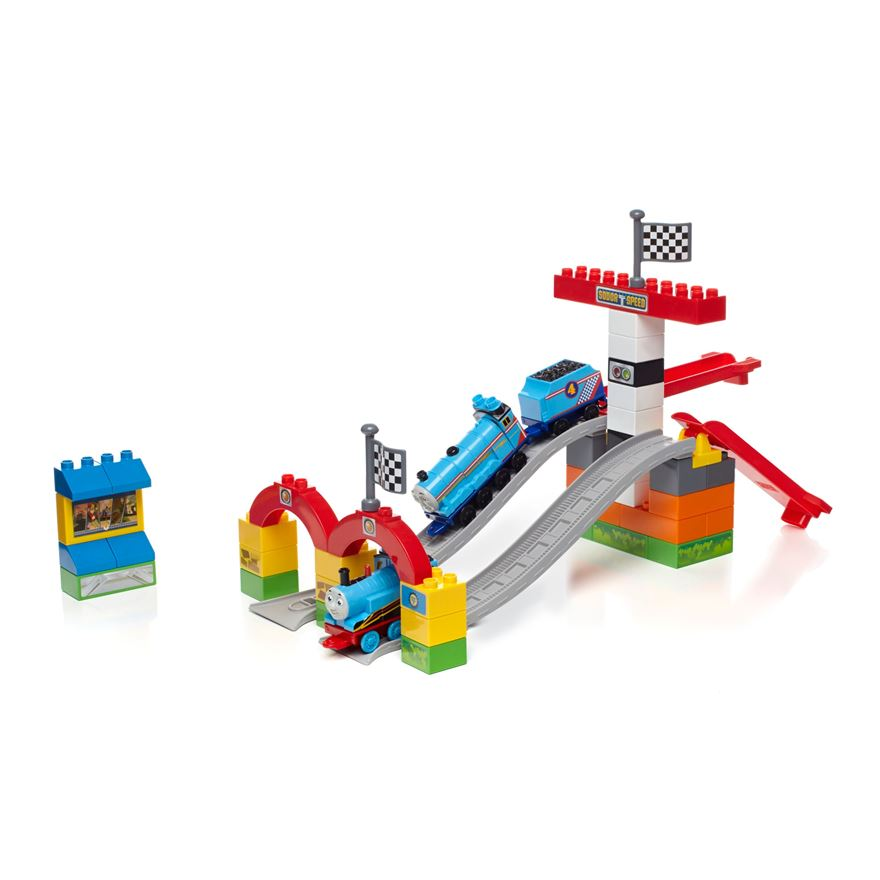 Thomas & Friends Railway Race Day by Mega Bloks image-0