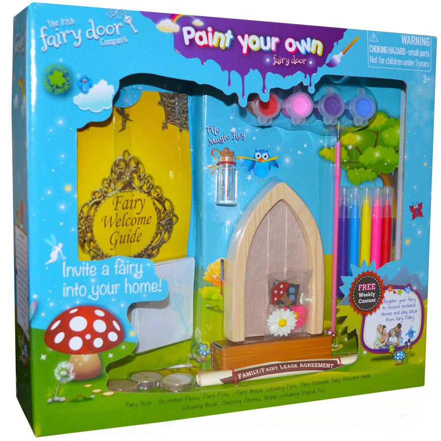 Paint Your Own Fairy Door image-0