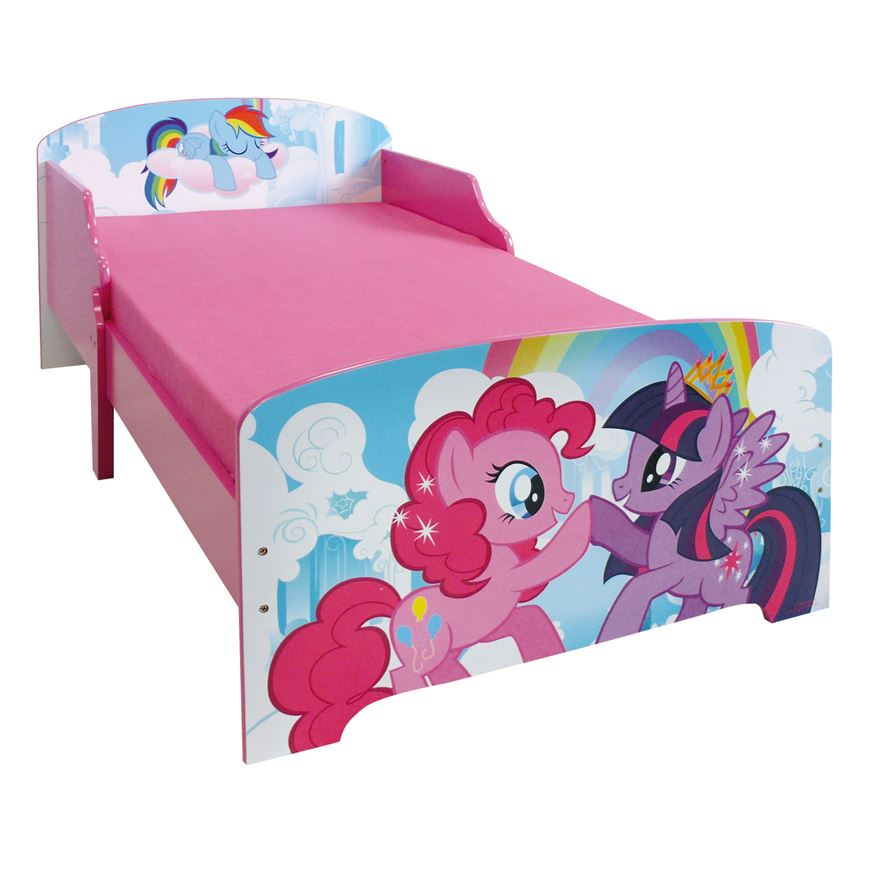 My Little Pony Wooden Toddler Bed image-0