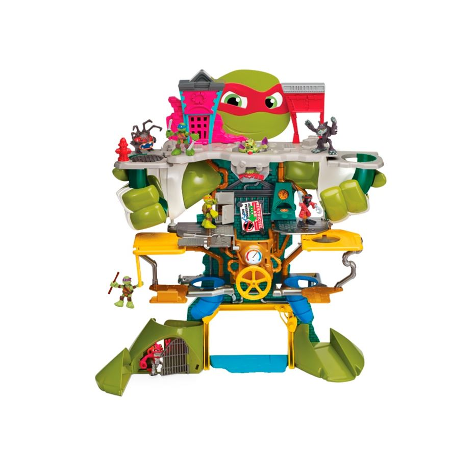 Turtles Half-Shell Heroes Headquarters Playset image-0