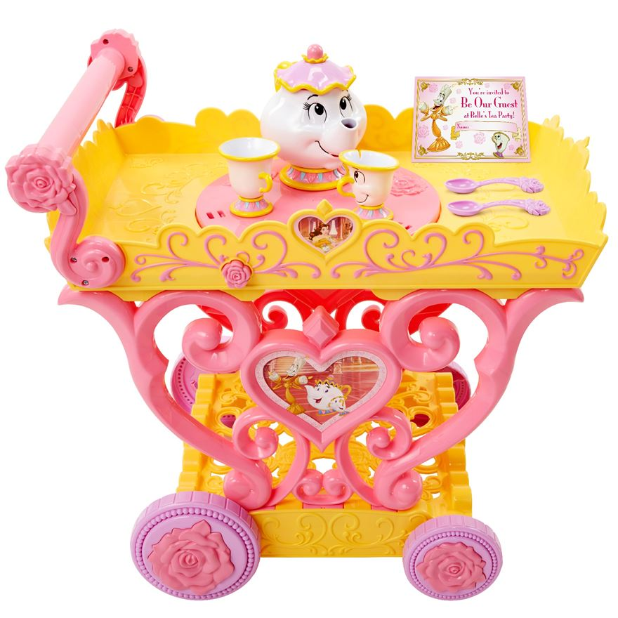 Disney Belle Musical Tea Party Cart image-0