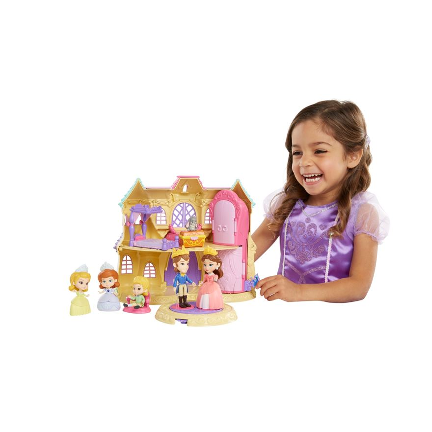Disney Princess Sofia The First Deluxe Castle Large Playset image-0