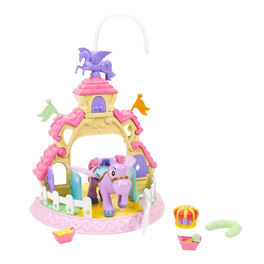 Disney Sofia The First 3 in 1 Minimus Stable Play Set image-0