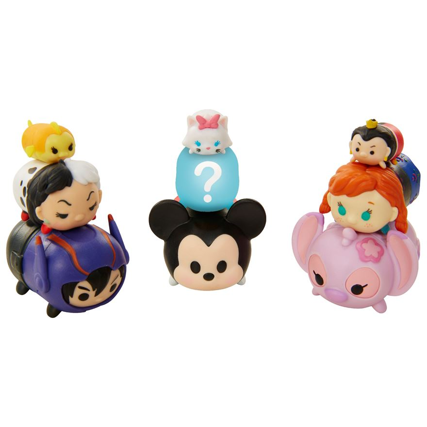 Tsum Tsum 9Pk Figures Wave 3 - Assortment image-0