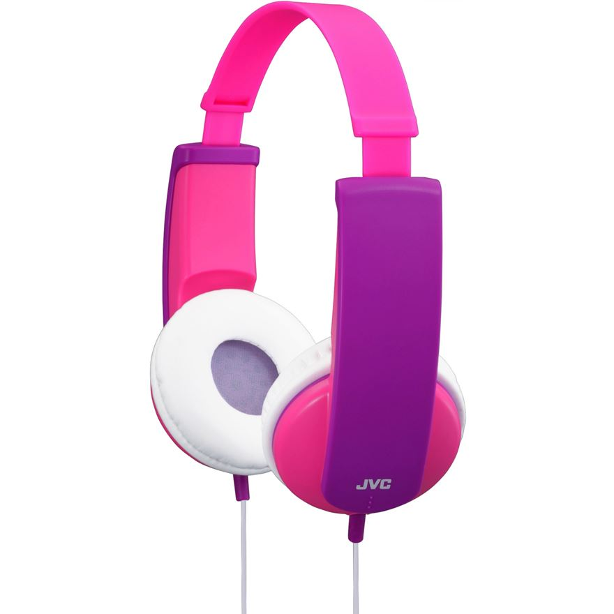 JVC Pink Kids Headphones