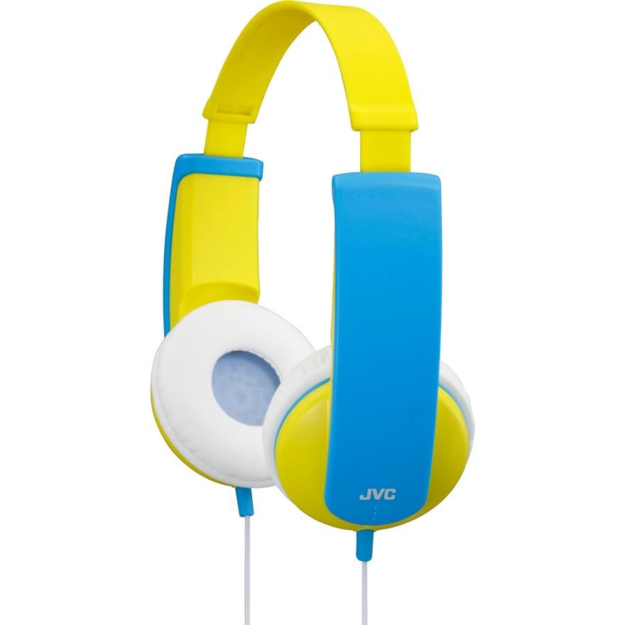 JVC YELLOW KIDS HEADPHONES