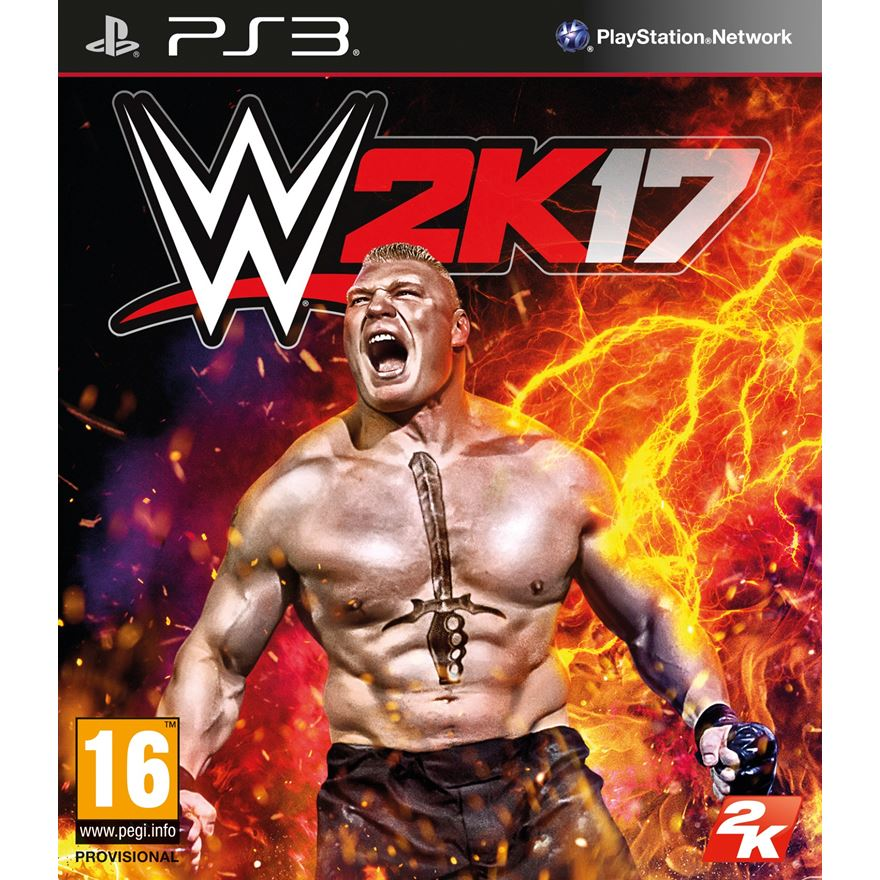 WWE2K17 PS3 image-0