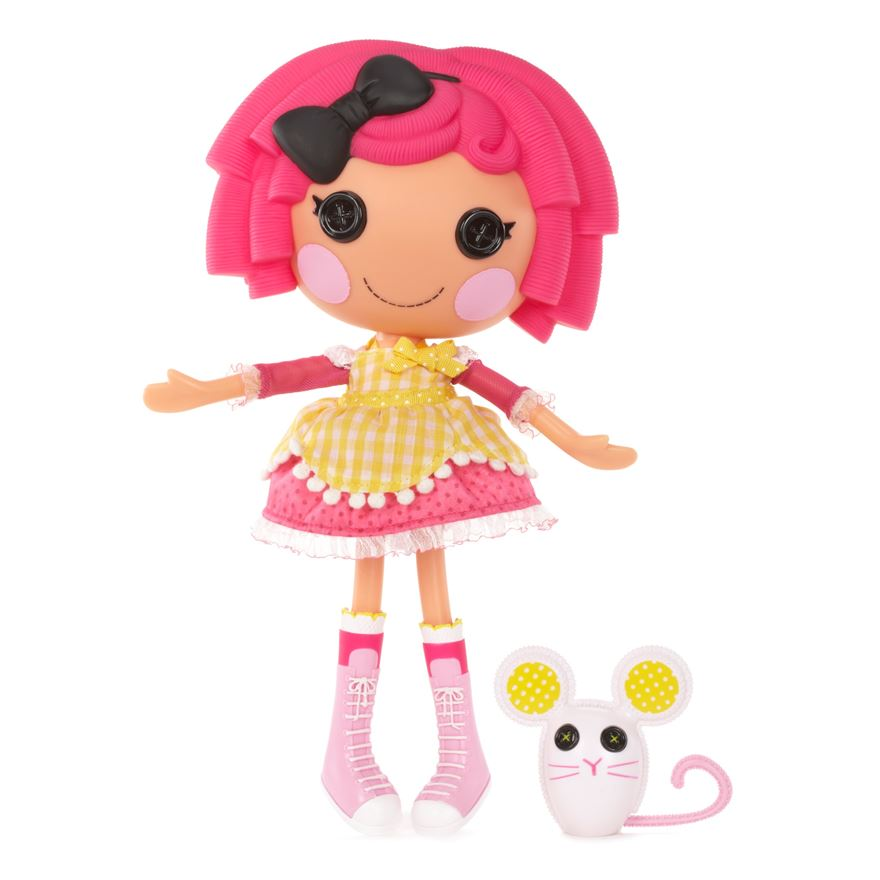 Lalaloopsy Crumbs Sugar Cookie Doll and Pet image-0