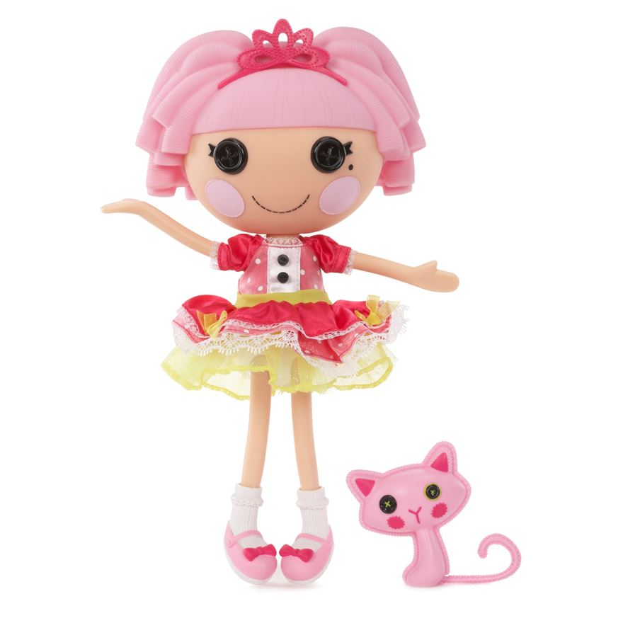 Lalaloopsy Jewel Sparkles Doll and Pet image-0