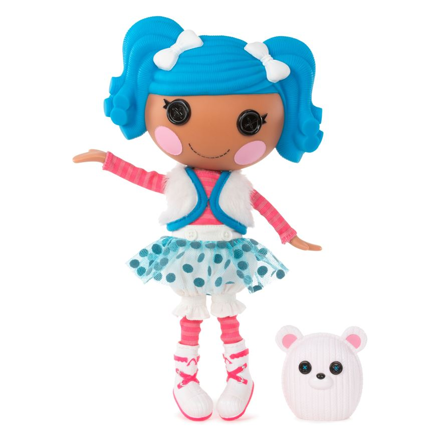 Lalaloopsy Mittens Fluff 'n' Stuff Doll and Pet image-0