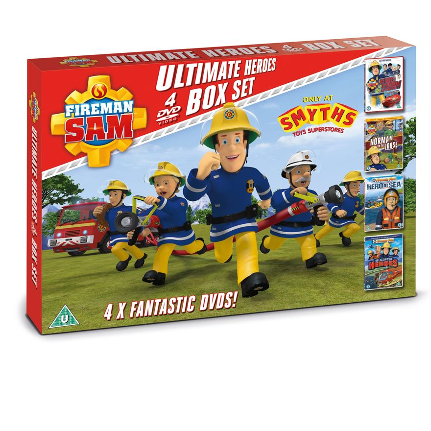 Fireman Sam Ultimate Heroes DVD Box Set