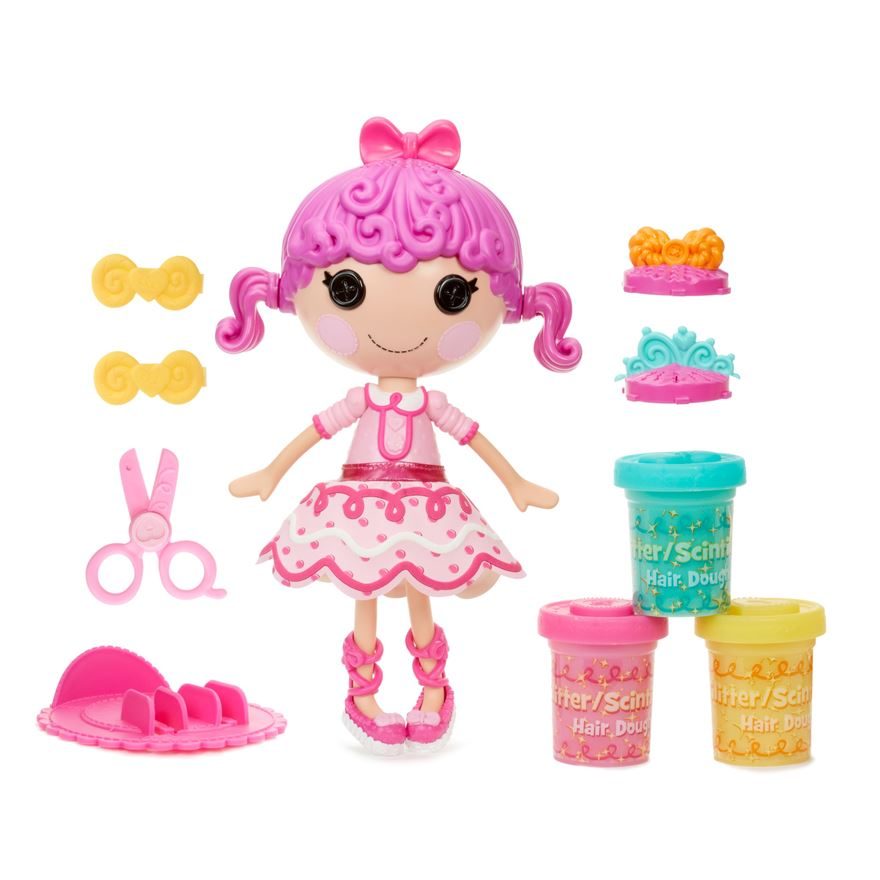 Lalaloopsy Glitter Hair-Dough Doll Tress Twist 'N' Braid image-0