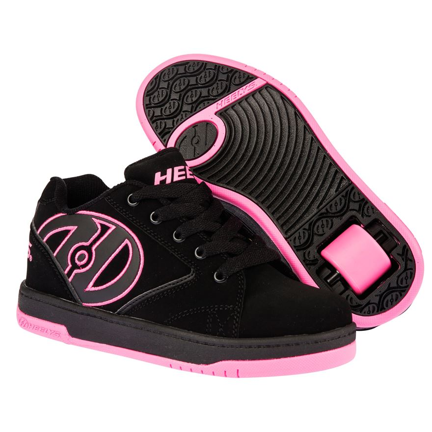 Heelys Propel 2.0 Black Hot Pink UK Size 2 image-0