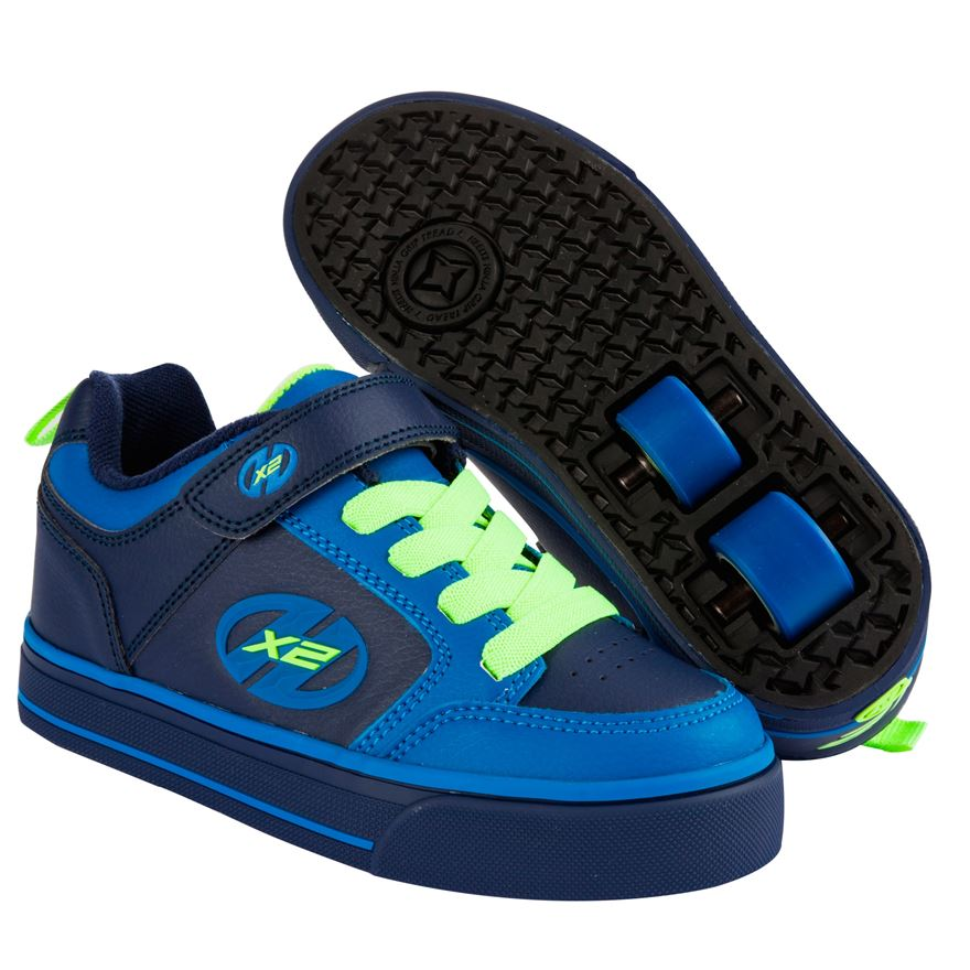 Heelys Thunder X2 Navy Yellow UK 12 image-0