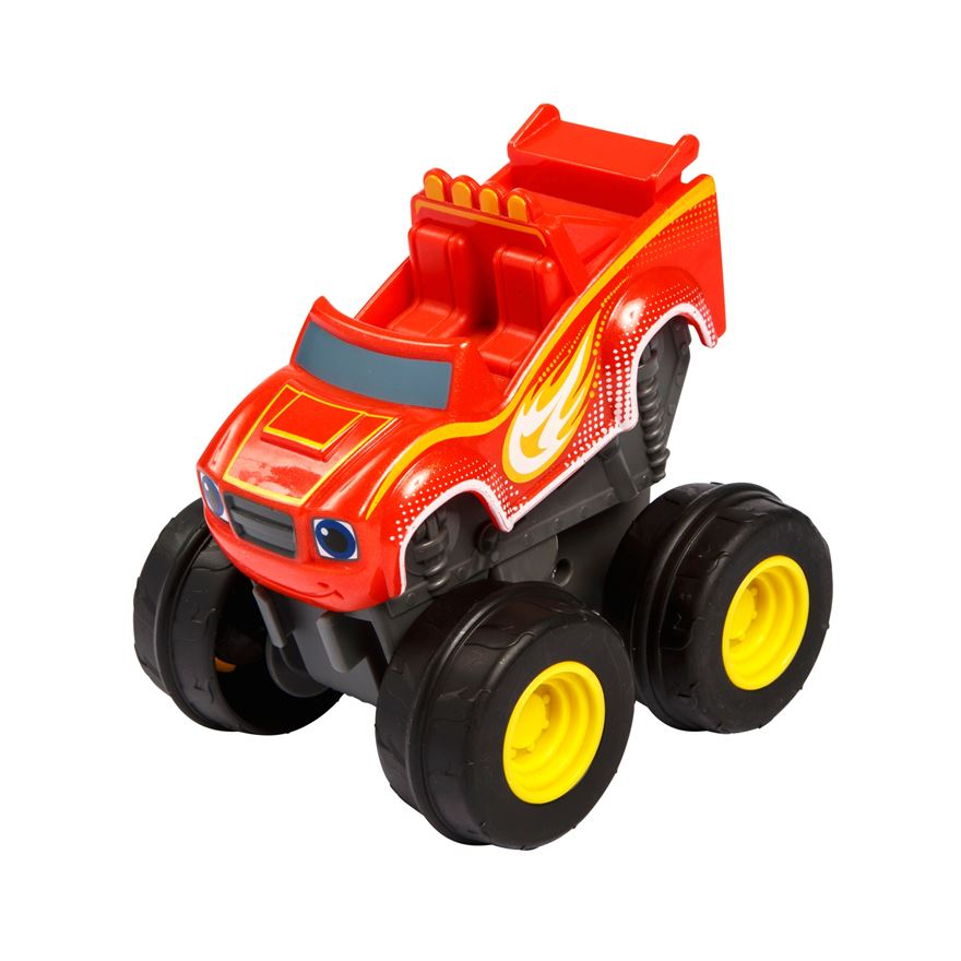 Fisher-Price Blaze and the Monster Machines Slam & Go Speed Light Blaze image-0