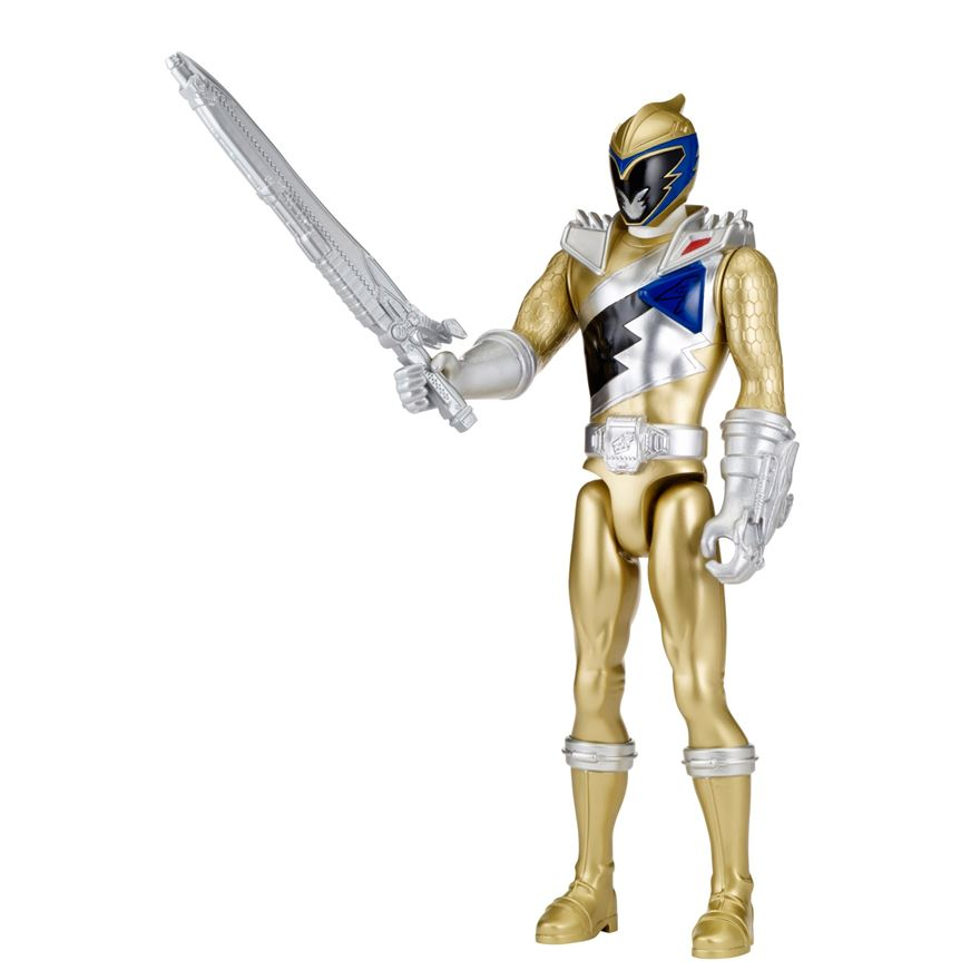 Power Rangers Dino Super Charge Gold 30cm Figure image-0