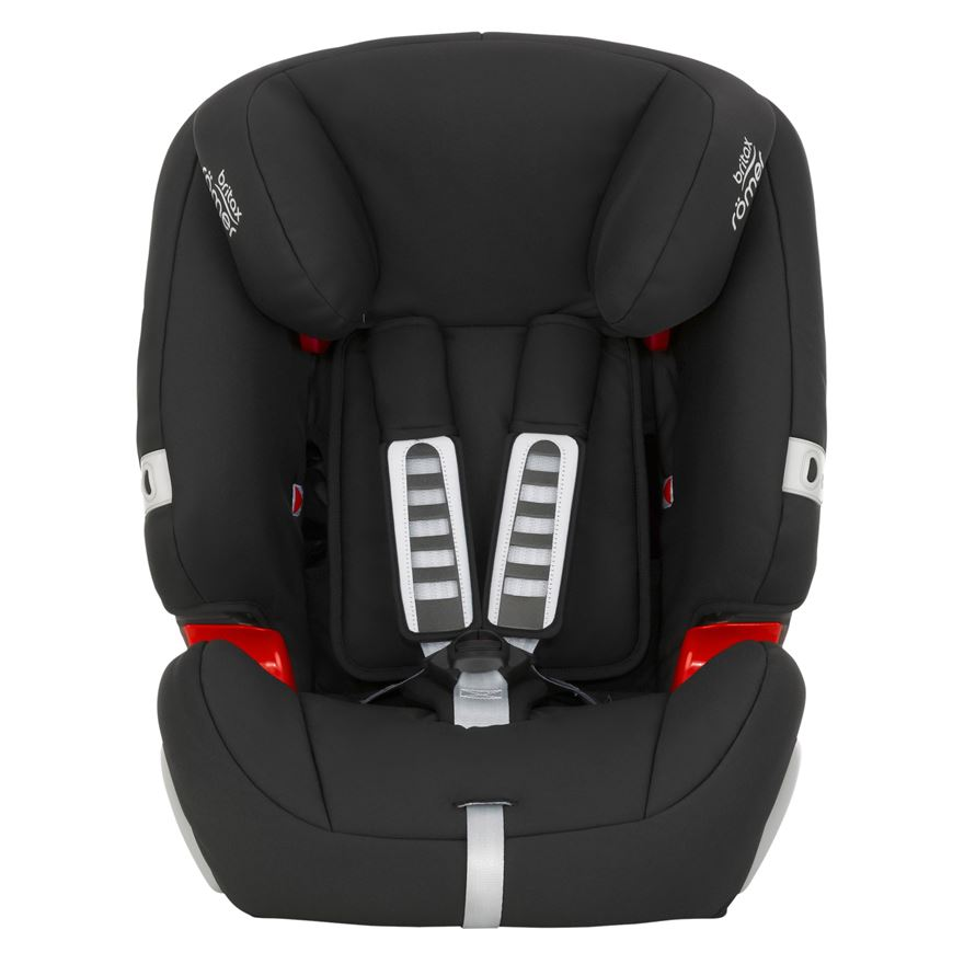 Britax Romer Evolva Cosmos Group 1-2-3 Car Seat Black image-0