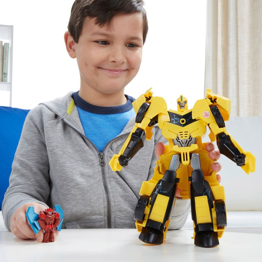 Transformers: Robots in Disguise Power Surge Bumblebee and Buzzstrike image-0
