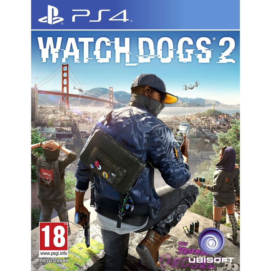 Watch Dogs 2 PS4 image-0