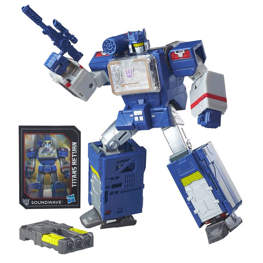 Transformers Generations Titans Return Soundwave and Soundblaster image-0