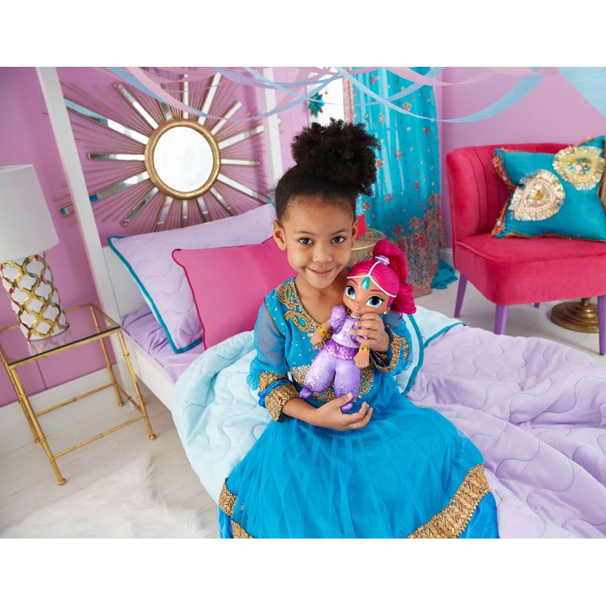 Fisher-Price Shimmer and Shine Talk and Sing Shimmer Doll image-0