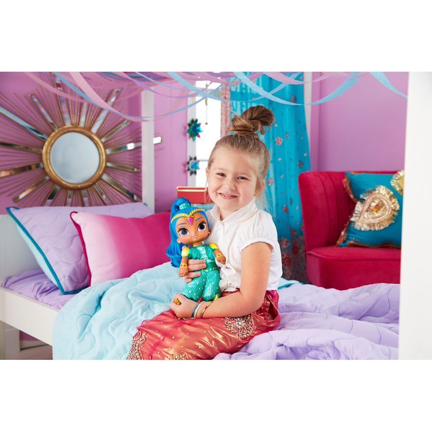 Fisher-Price Shimmer and Shine Talk and Sing Shine Doll image-0