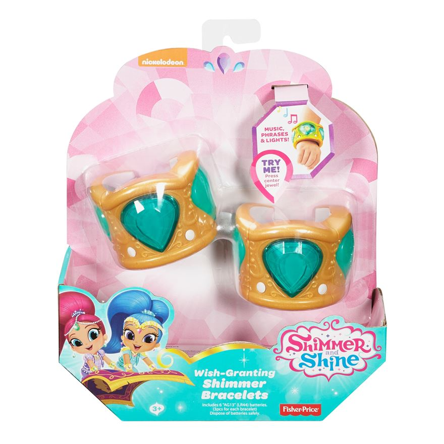 Fisher Price Shimmer and Shine Bracelets - Assortment image-0