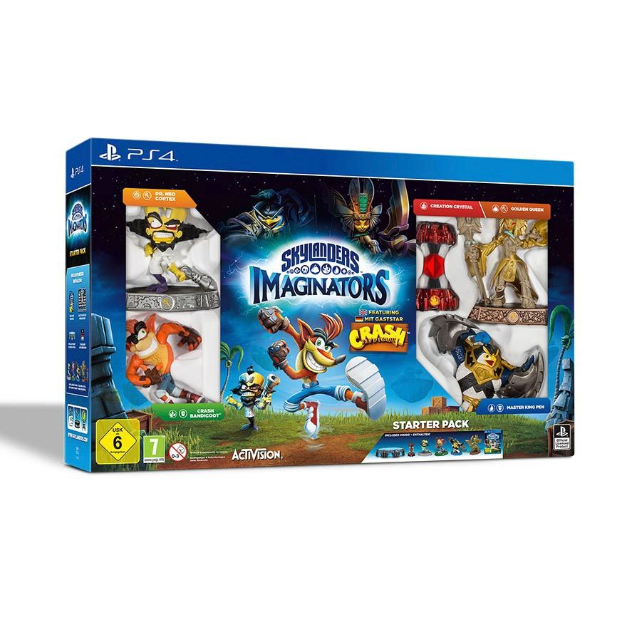 Skylanders Imaginators Starter Pack Crash Bandicoot Edition PS4 image-0