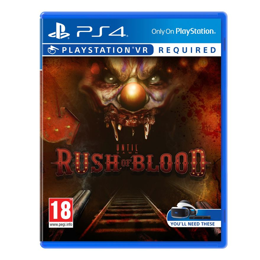 Until Dawn Rush Of Blood VR PS4 image-0
