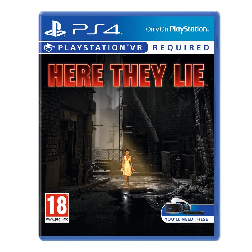Here They Lie VR PS4 image-0