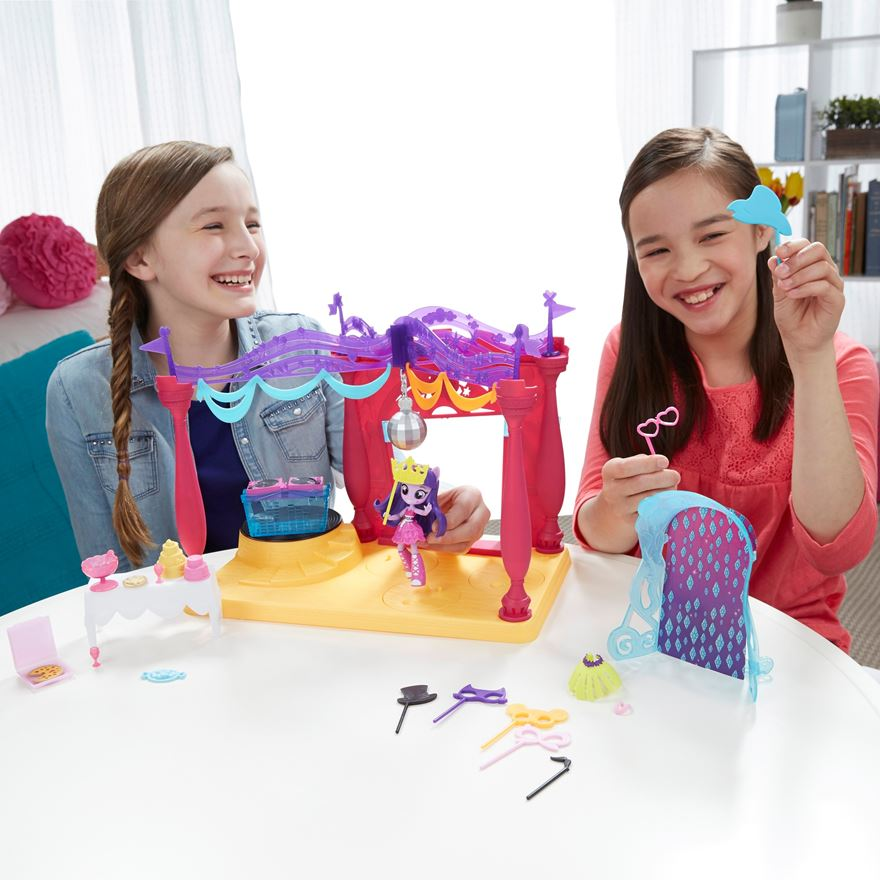 My Little Pony Explore Equestria Canterlot High Dance Playset image-0
