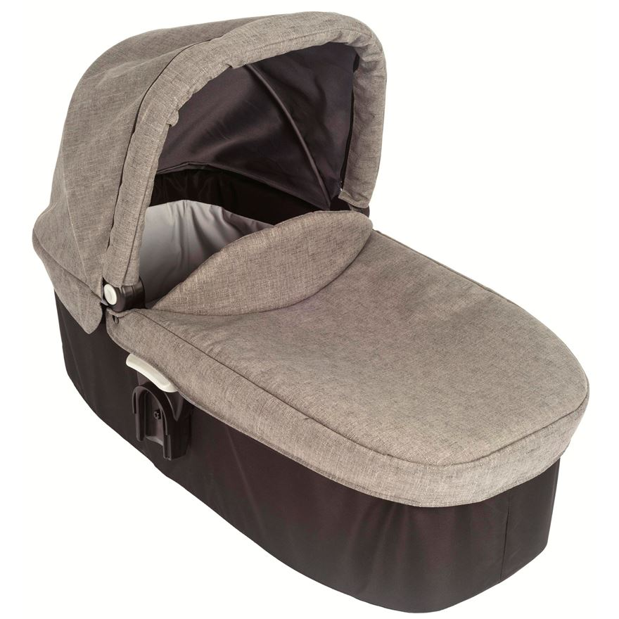 Graco Evo Carrycot - Slate Grey image-0