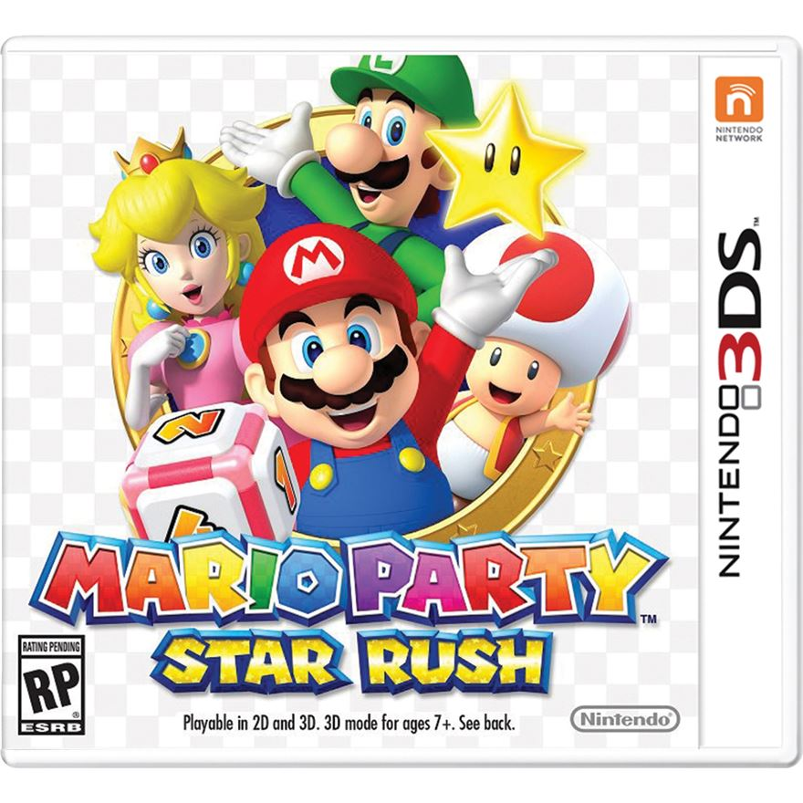 Mario Party Star Rush 3DS image-0