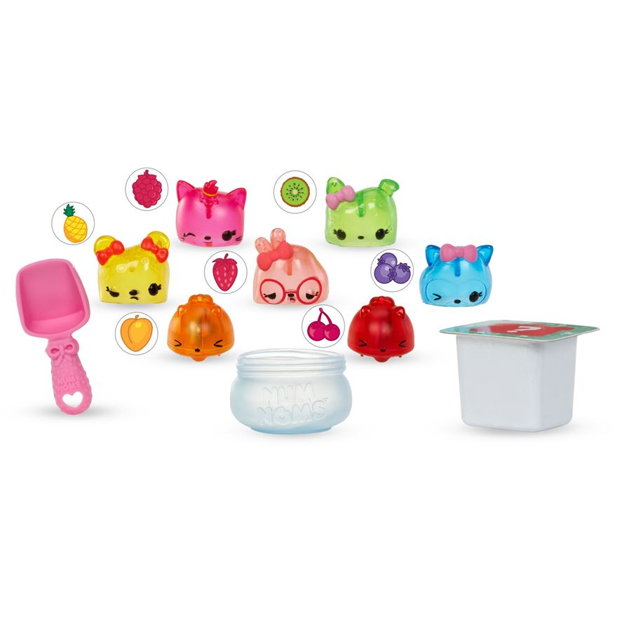Num Noms Deluxe Pack Series 2 Jelly Bean GiftBox image-0
