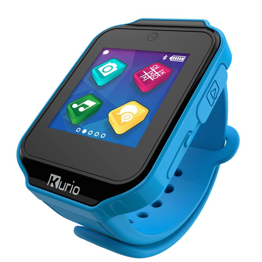 Kurio Smart Watch Blue image-0