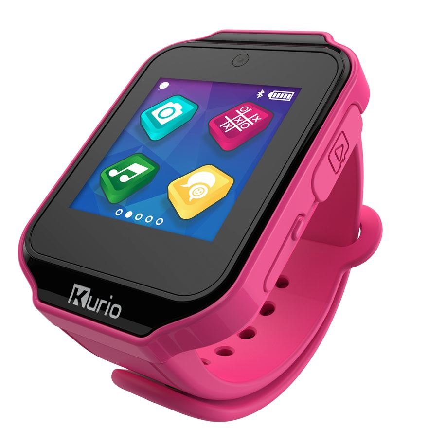 Kurio Smart Watch Pink image-0