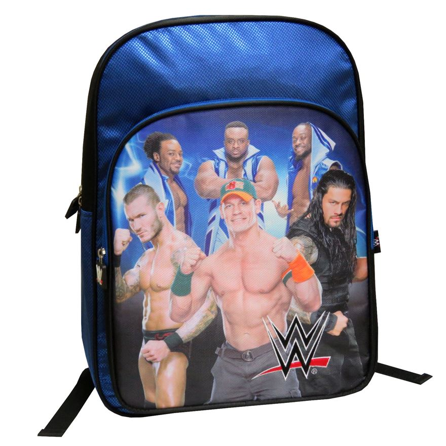 WWE Backpack with Front Pocket image-0