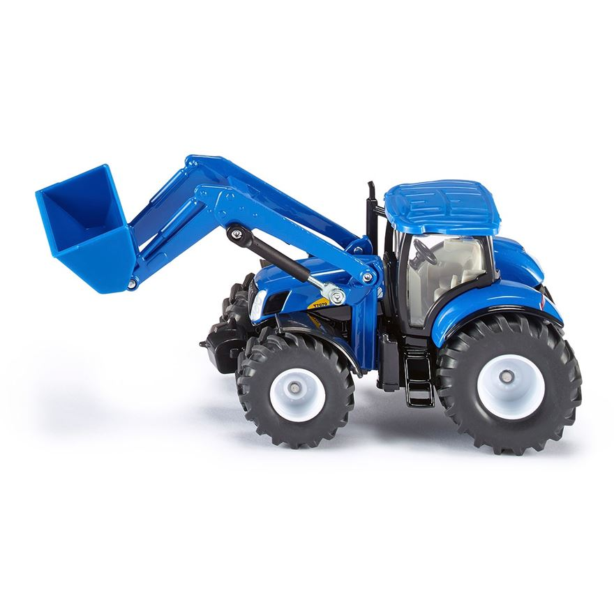 Siku 1:50 New Holland T7070 Tractor with Front Loader image-0