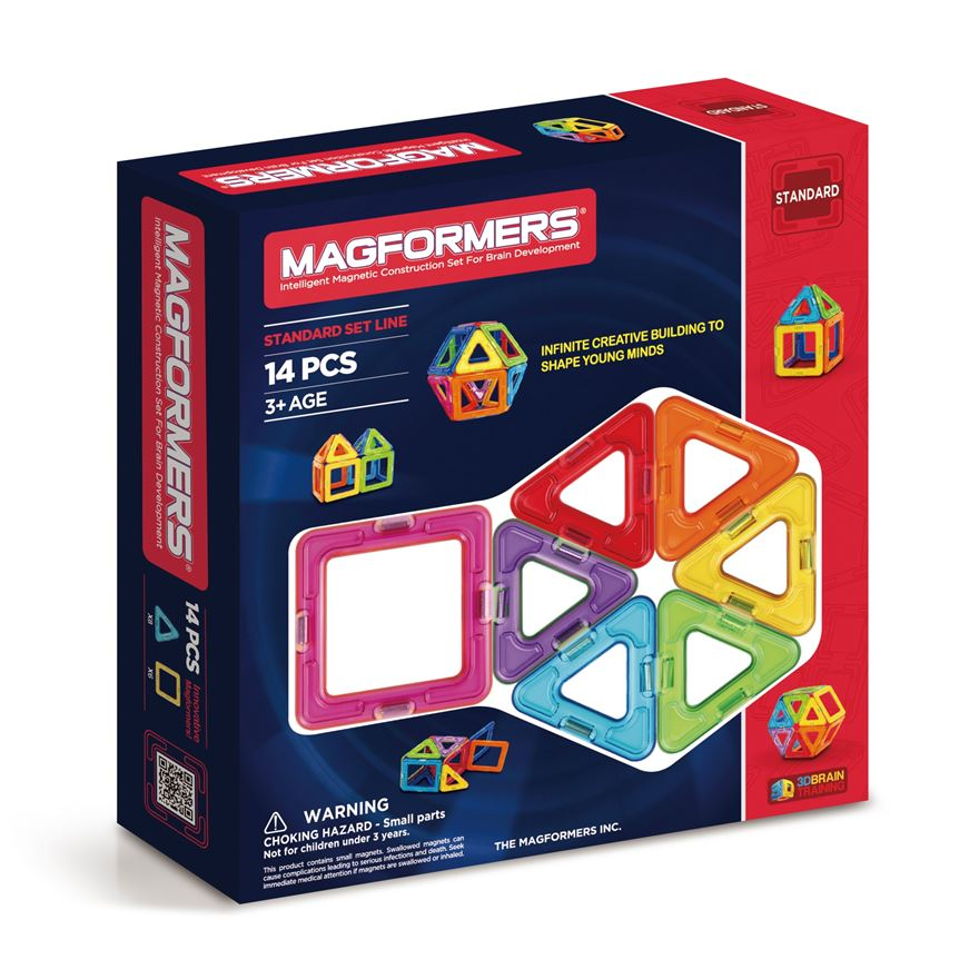 Magformers 14 Piece Construction Set image-0