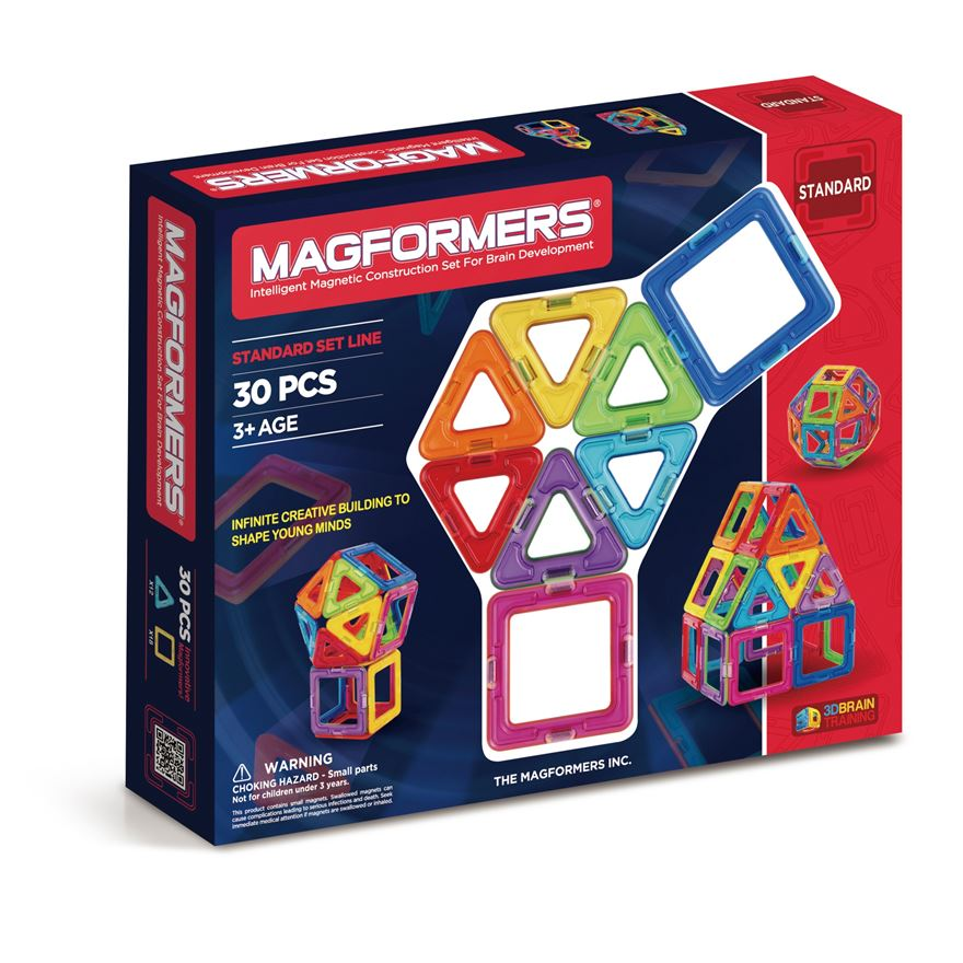 Magformers 30 piece Construction Set image-0