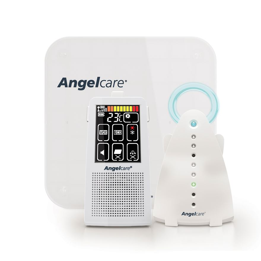 Angelcare AC701 Digital Touchscreen Movement and Sound Baby Monitor image-0